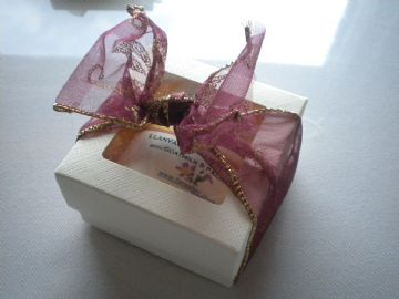 'Bow Box' with Soap & Balm
